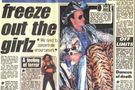 U2 Bono's Holographic Suit
