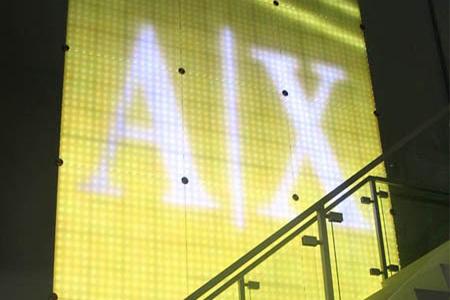 A|X Interactive Wall Display