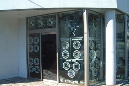 Moog Window Display