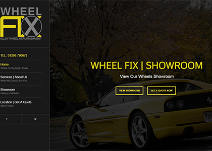 Wheel Fix Website